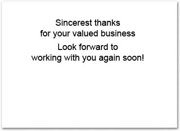 Thank You Cards On Sale Business Greeting Cards