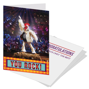 Your Rock Congratulations Card