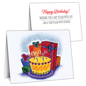 Business Birthday Card