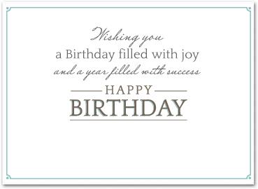 Business birthday cards employee birthday cards b522 business birthday card m4hsunfo