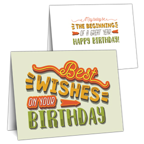Best Wishes Business Birthday Cards