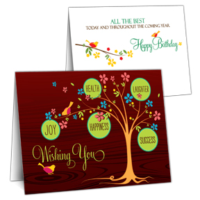 Business Birthday Cards Inside Greeting