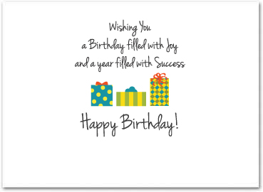 Business birthday card employee birthday cards b556 business birthday card m4hsunfo