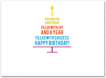 Business birthday cards employee birthday cards b558 business birthday card colourmoves Images
