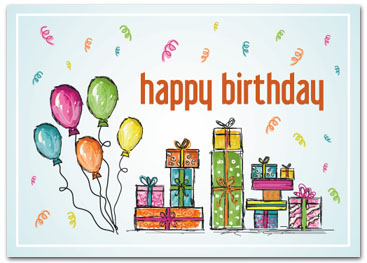 Business Birthday Cards - Employee Birthday Cards