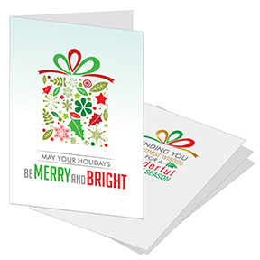 Holiday Gift Christmas Card