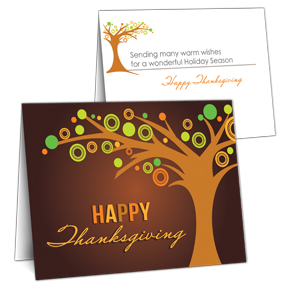 Stand Strong Business Thanksgiving Card