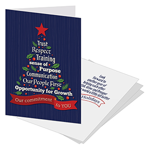Employee Christmas Cards