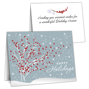 Trees Business Christmas Cards