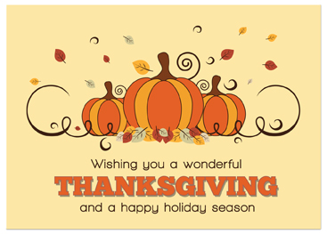 Thanksgiving cards for business acurnamedia business thanksgiving cards business greeting cards m4hsunfo