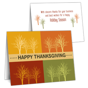 Business Thanksgiving Card