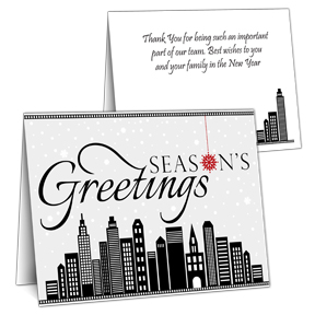 Employee Holiday cards