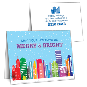 City Business Christmas Card