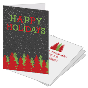 Evergreen Business Holiday Card