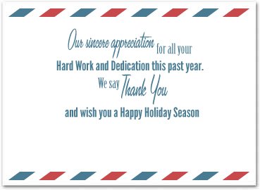 holiday cards for employees | Template