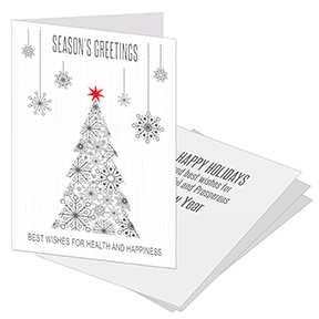 Snowed Trees Corporate Holiday Card