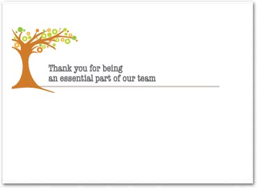 Employee appreciation cards business greeting cards greeting card size 5 x 7 reheart Choice Image