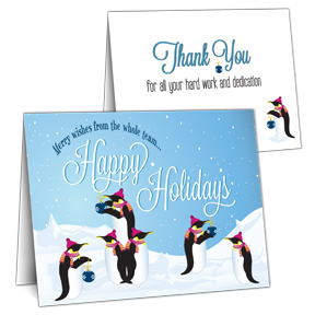Employee Appreciation Holiday Card