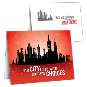 First Choice in the City Sales Prospecting Tool