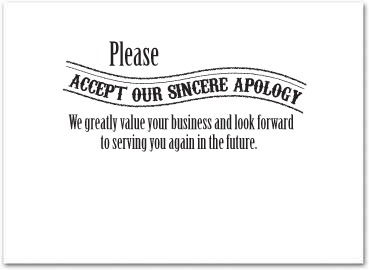 Apology Cards Pertaminico - Make your own invoice template free hallmark store online