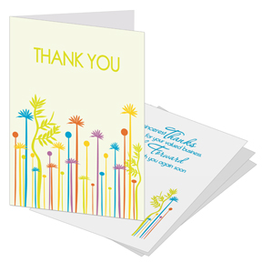 Sale Business thank you cards