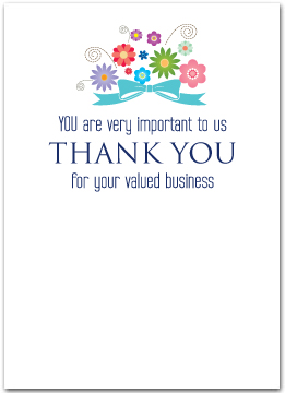 Business thank you cards business greeting cards my custom inside greeting doesnt look the same as yours dont worry once we receive your order our art department will send a free proof for your colourmoves Choice Image