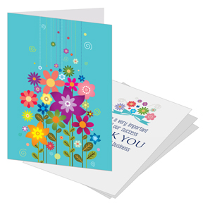 Floral Business Thank You Card