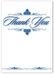 Business Thank You Card Sample